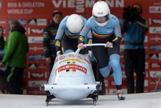 Belgische bobsleemeisjes grijpen net naast EK-metaal
