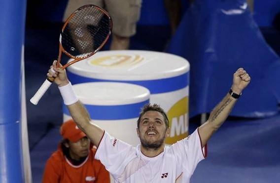 Wawrinka wint finale Australian Open van Nadal