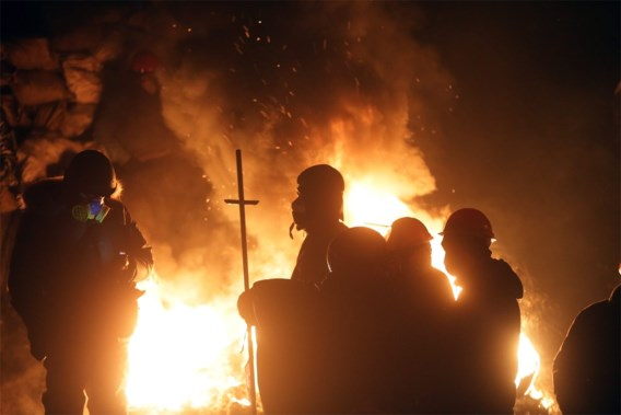 Betogers bezetten ministerie van Justitie in Kiev