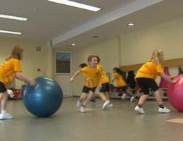 Kinderen moeten wisselen van sport