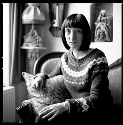 Delphine Lecompte: 'Schrijven is het enige waar ik goed in ben en wat ik met hart en ziel kan doen'.