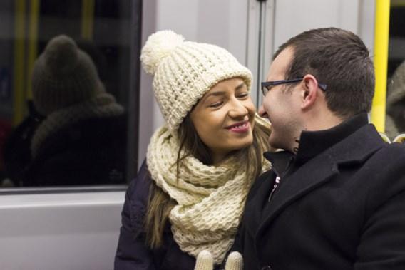 Nederlanders leren flirten op de trein