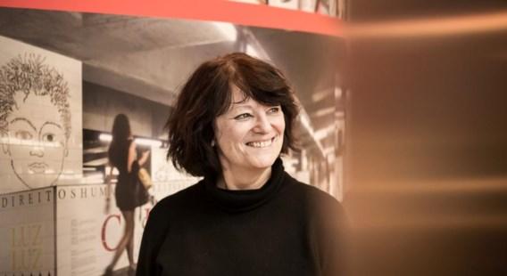 Françoise Schein: 'Zoals Atlas de wereldbol draagt, zo zijn het de mensenrechten die de mensheid schragen.'