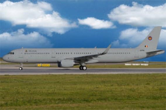 Nieuwe Airbus van Defensie is grijs in plaats van wit