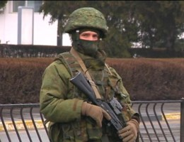 Twee luchthavens bezet op de Krim