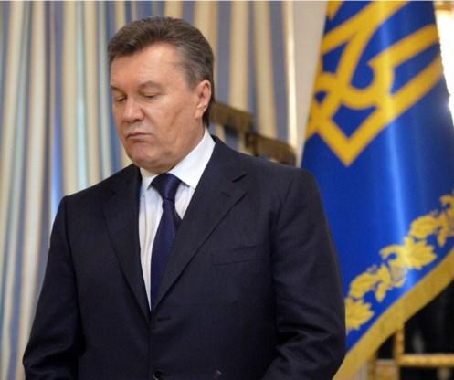 Oekraïne wil Janoekovitsj laten uitleveren
