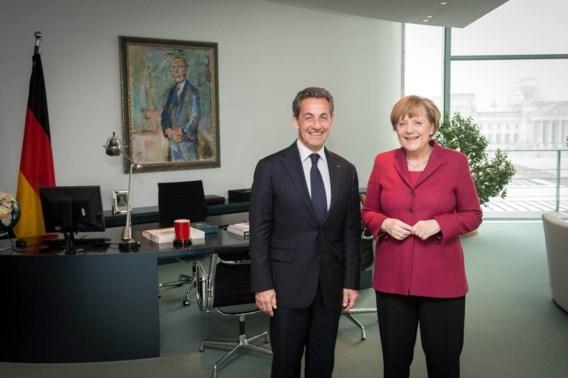 Op 28 februari werd Sarkozy nog ontvangen door Merkel. Werd er ook gepraat over zijn politieke comeback?