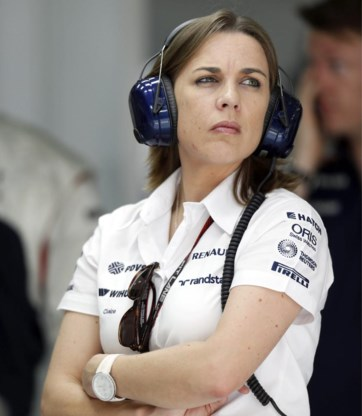 Claire Williams: 'Formule 1 mag dan wel bekendstaan als een mannenbastion, als je goed genoeg bent, hoor je er gewoon bij.'