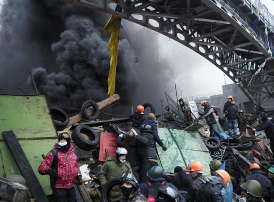 Op het Onafhankelijkheidsplein in Kiev was de strijd zwaar. Maar de taak die de nieuwe regering wacht is zo mogelijk nog zwaarder.