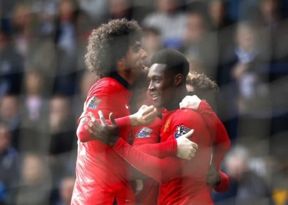 Fellaini en Januzaj helpen United er mee bovenop