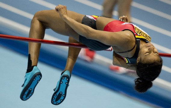 Nafissatou Thiam achtste in finale hoogspringen