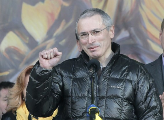 Chodorkovski duikt op in Kiev