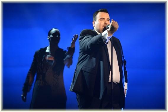 Axel Hirsoux en Bandits in finale Eurosong