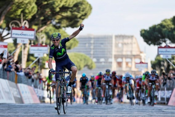 Indrukwekkende Valverde wint ook in Rome