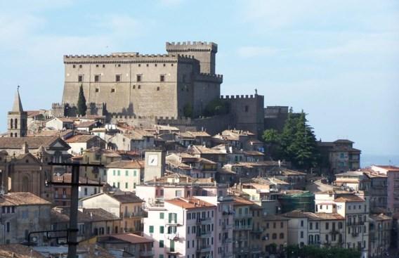 Ook te huur: het kasteel van de familie Orsini in Soriano nel Cimino, honderd km ten noorden van Rome.