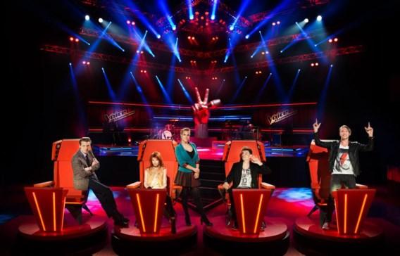Het VTM-programma The Voice van Vlaanderen haalt hoge kijkcijfers.