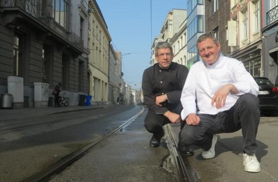 Piet Favere (rechts) en Robert Wickerhoff: 'En wat is er onder het asfalt aan het gebeuren?'