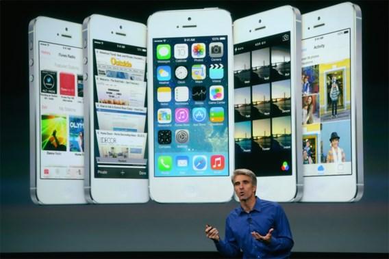 Apple lanceert update voor iOS 7