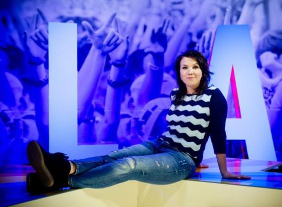 'Olalala': Siska Schoeters presenteert een quiz.