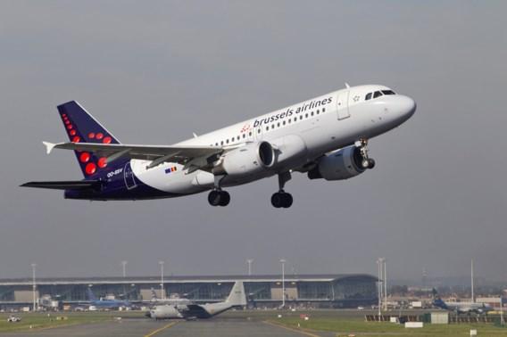 Uur lang geen vluchten op Brussels Airport door dichte mist
