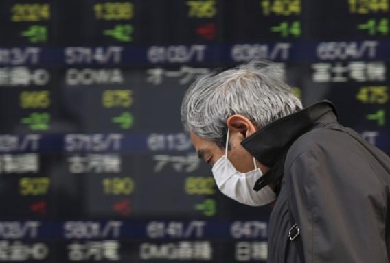 Nikkei-index zakt opnieuw onder 15.000 punten