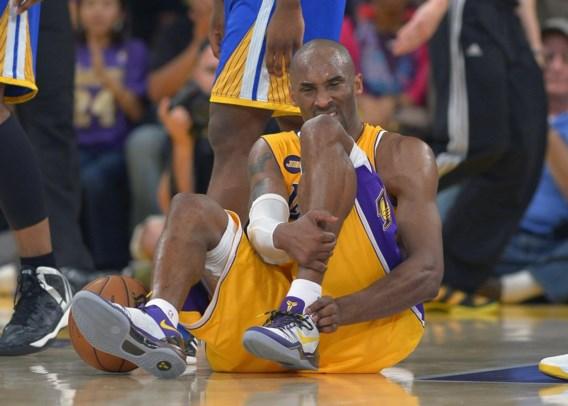 Kobe Bryant zet vroegtijdig punt achter zijn seizoen