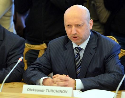 Kiev zal niet militair optreden op de Krim