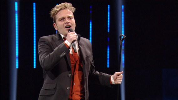 Udo wél naar finale van 'Eurosong'