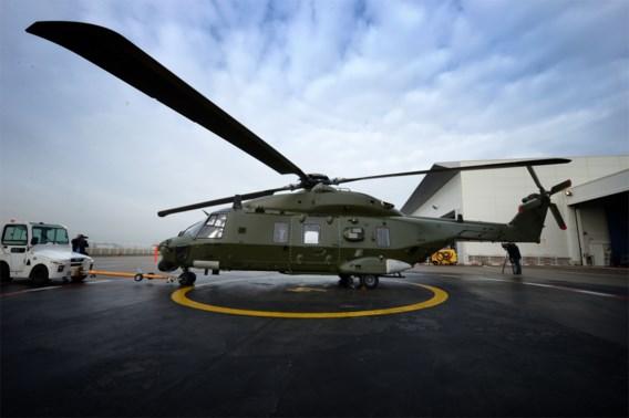Nieuwe marinehelikopter niet bestand tegen zeezout