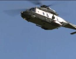 Marinehelikopter roest door zeezout