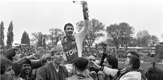 Johan Cruijff: zijn leven draait rond voetbal.