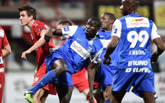 Invaller Sekou Cissé had maar enkele minuten nodig om het belangrijke doelpunt van de kwalificatie voor Play-off 1 te maken.