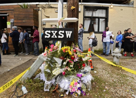 Derde dode na ongeval op SXSW
