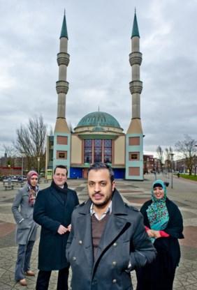 De lijsttrekkers van Nida (v.l.n.r.): Rabia Orhan, Aydin Peksert, Nourdin El Ouali en Samila Afkir.