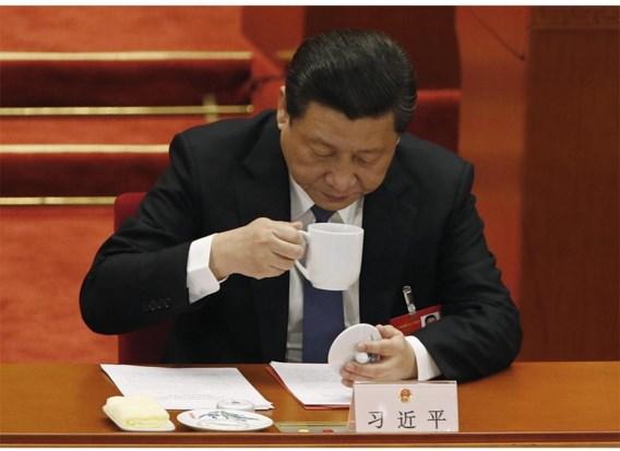 President Xi Jingping pauzeert tijdens het recente Volkscongres.