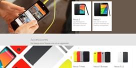 Google verkoopt gadgets in Belgische Play Store