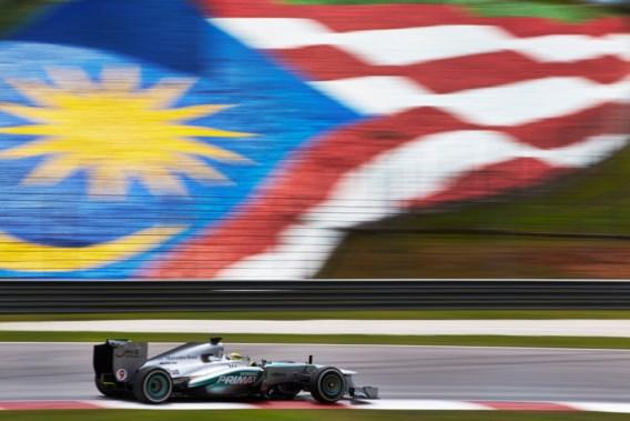Ingetogen F1-raceweekend in Maleisië na verdwijning van vliegtuig