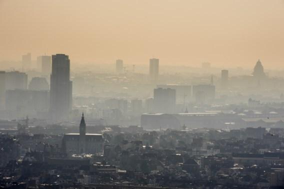 Smog in Brussel erger dan voorspeld