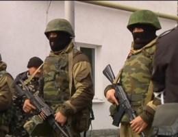 Basis Oekraïense zeemacht bestormd