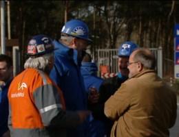Staking bij Arcelor Mittal in Gent