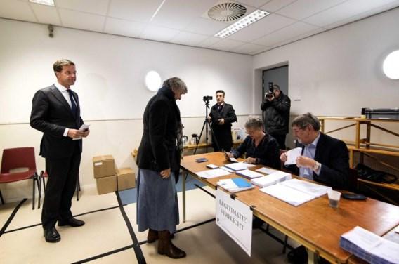 Ook premier Rutte gaat stemmen.