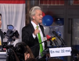 Commotie over toespraak Wilders