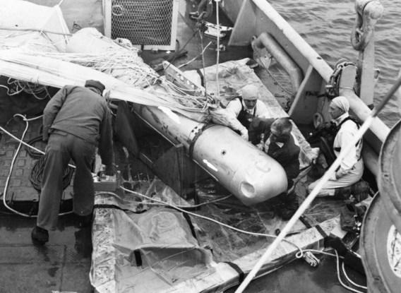 Pas vier maanden na een ongeluk begin 1966 nabij het Spaanse Palomares, kon de Amerikaanse marine een gezonken atoombom bergen.
