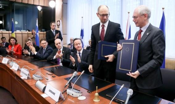 EU en Oekraïne halen banden aan