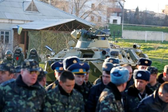 Oekraïense luchtmachtbasis op Krim ingenomen