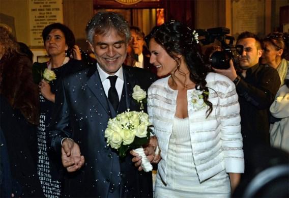 Operazanger Andrea Bocelli getrouwd