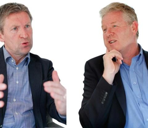 Peter Maes en Francky Dury.