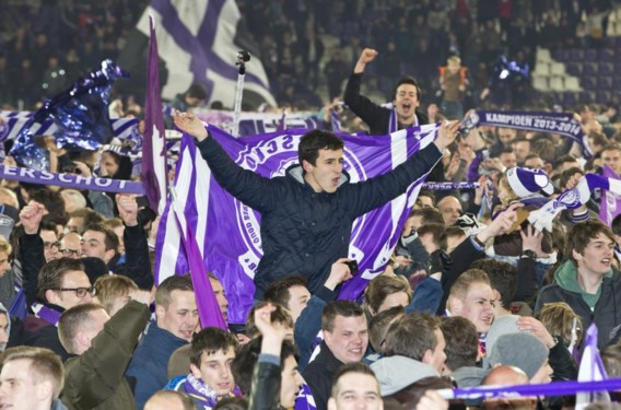 De supporters waren door het dolle heen.
