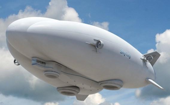 Een concept voor een doorontwikkelde zeppelin.