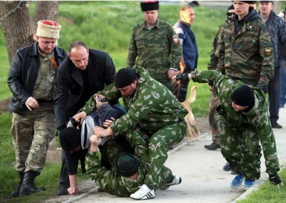 Na de bestorming van de militaire basis Novofedorivka afgelopen weekend, is de Krim nu vrijwel volledig in Russische handen.